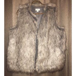 Shag Faux Fur Vest
